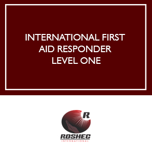 ROSHEC INTERNATIONAL FIRST AID RESPONDER LEVEL ONE