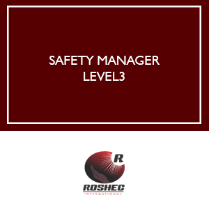 SAFETY MANAGER LEVEL 3